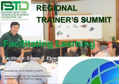 Facilitating Learning Trainer Summit