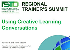 Using Creative Learning Conversations