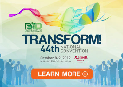 44th PSTD National Convention – Transform Presentations