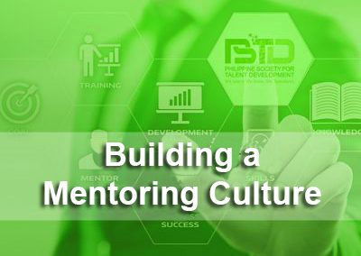 Building a Mentoring Culture in Your Organization