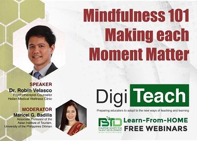 Mindfulness 101 Making each Moment Matter